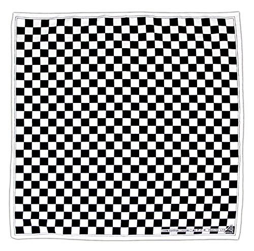 t Checkered Flag Kopftuch Bandana Halstuch (Flag Bandana)