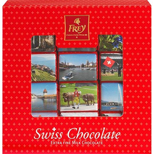 Schokolade - Napolitains - 'Swiss Chocolate Napolitains Schachtel' von Chocolat Frey Schweiz - 250g,...