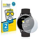 brotect Pellicola Copertura Completa Compatibile con Umidigi Uwatch 2S (2 Pezzi) Full-Cover 3D Curvo