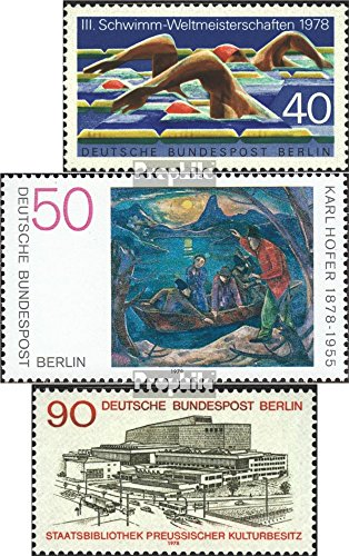 berlin-west-571572577-completeedition-1978-natation-hofer-bibliotheque-timbres-pour-les-collectionne