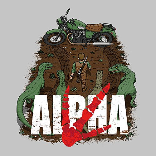 Akira Park Alpha Jurassic World Owen Men's Vest Heather Grey