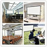 Screen Home Cinema 233X139Cm (100 ) 16: 9 Mobile Projector Screen Easy Installation And Operation Suitable For Home Cinema And Outdoor Projection Screen