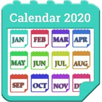 Calendar 2020 With Holiday