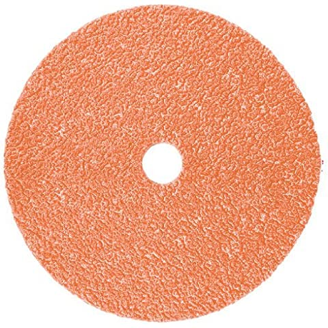 3 m Cubitron II 987C recubierto de cerámica - grano 36 - Disco de fibra questway 5 en 8/7