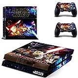 Playstation 4 + 2 Controller Aufkleber Schutzfolie Set - Lego Star Wars (2) /PS4