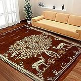 #9: Red Hot Designer Carpet Size- 5 feet X 7 feet