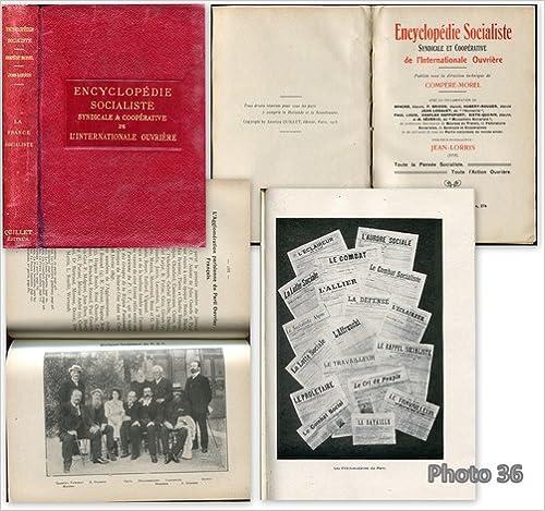 Livre Un peu d'histoire. encyclopédie socialiste, syndicale et coopérative, de l'internationale ouvrière pdf