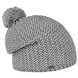 McBurn Reflective Bommelmütze Mütze Strickmütze Wintermütze Beanie mit Bommel Pudelmütze für Damen Herren Kinder Futter, Futter Winter (One Size - hellgrau)