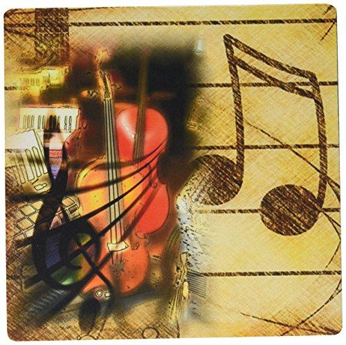 3drose Bild von Bratschen und Musik Notes Maus Pad (MP _ 174435_ 1)