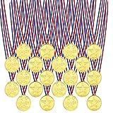 centtechi Medaillen Kinder Kunststoff Gewinner Medaillen 20 Stücke Spiel Spielzeuge Für Kinder Sporttag, Party Game Toys, Preise by