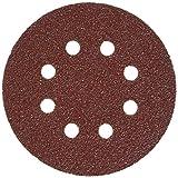 Faithfull AD12540H Aluminium Oxide Disc DID3 Holed 125mm x 40g (Pack of 25)