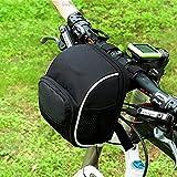 Viktion wasserdicht Tretroller Tasche für klappbar Fahrrad Scooter Cityroller Scooter Erwachsene oder Kinder mit Regenschutz (schwarz)