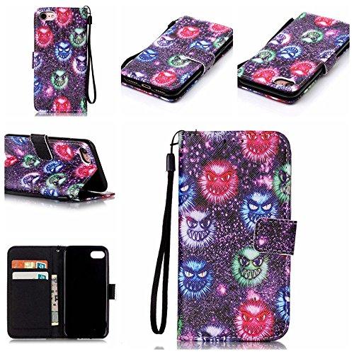 Eine Vielzahl von Farben XFAY HX-455 iPhone 7plus Handyhülle Case für iPhone 7plus Hülle im Bookstyle, PU Leder Flip Wallet Case Cover Schutzhülle für Apple iPhone 7plus-2 Farbe-10