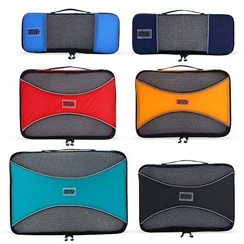 Pro Packing Cubes–Juego de cubos para maletas, 6piezas ligeras