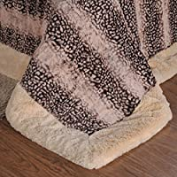 BDUK Ultra-Soft Raschel lettiera coperta scuro per
