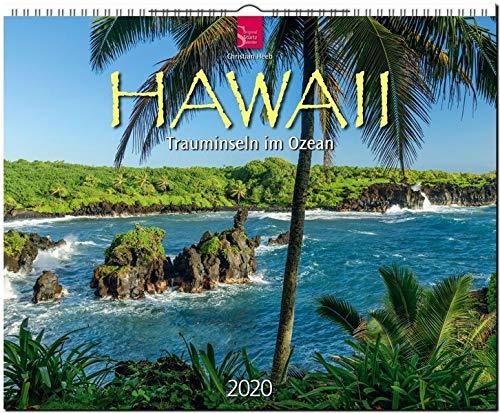 Hawaii - Trauminseln im Ozean: Original Stürtz-Kalender 2020 - Großformat-Kalender 60 x 48 cm