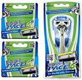Dorco Pace 6 Plus- Six Blade Razor Syste...