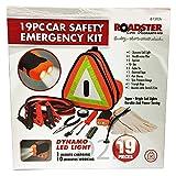 19PC kit di emergenza Safety Car ripartizione Euro veicolo caravan triangolo LED