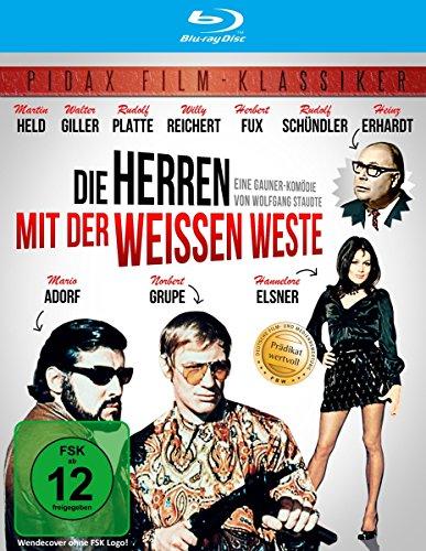 Bild von Die Herren mit der weissen Weste (Wunderbare Krimikomödie mit absoluter Starbesetzung in brillianter HD-Abtastung) (Pidax Film-Klassiker) [Blu-ray]