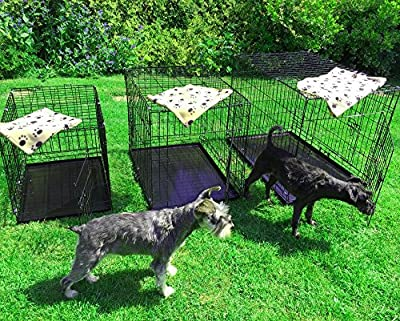 AVC Small Medium Large XL XXL Pet Dog Puppy Cat Metal Foldable Carry Transport Training Cage inc Lifetime Warranty