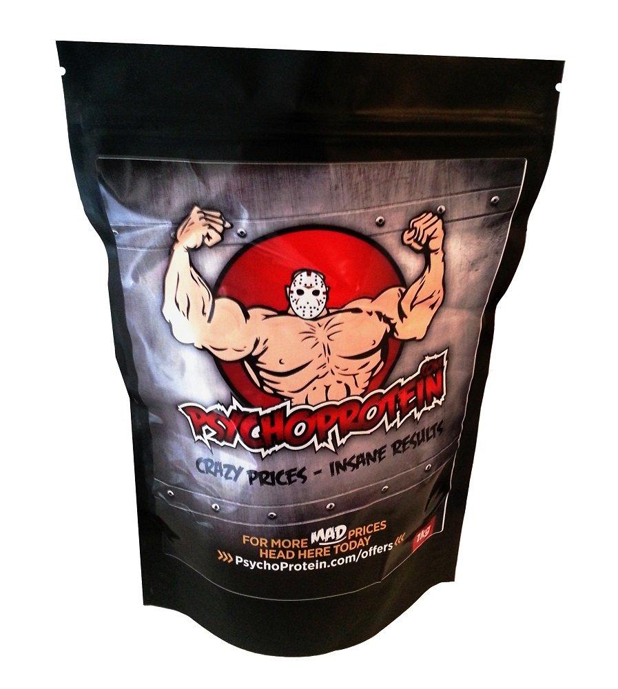 61qQBeMJ4oL - Psycho's Purest L-Arginine (Strongest Legal) 'Muscle Pump' Powder - 500grams