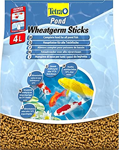 Tetra Pond Wheatgerm Sticks (Pot Size: