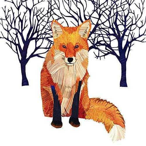 (Paperproducts Design Design Winter Solstice Fox Papierserviette, mehrfarbig, 20er Pack)