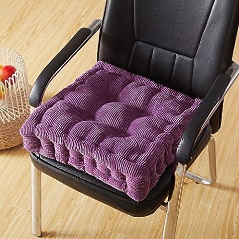 GYD Tatami Cuscino spessa cuscini di seduta Ufficio Presidenza Mat Aumento della sedia Student Computer (Sedia Arancione Ufficio Presidenza)