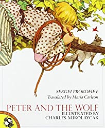 Peter and the Wolf by Sergey Prokofiev (1987-10-30)