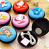 #6: Jiada Multicolor Cartoon Coin Purse Silicon Zipper Memory Card Pouch Wallet Mini Purse Accessories Return Gift (Pack Of 6)