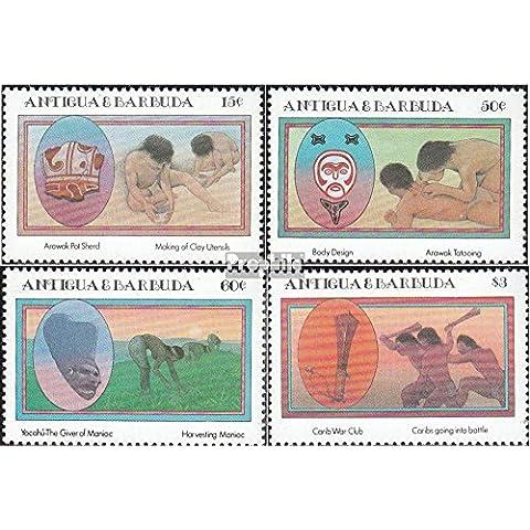 Antigua e Barbuda 841-844 (completa.Problema.) 1985 Caraibi Indiani (Francobolli )