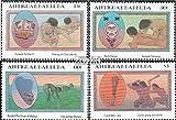 Antigua e Barbuda 841-844 (completa.Problema.) 1985 Caraibi Indiani (Francobolli ) - Prophila Collection - amazon.it