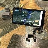 Kobwa Housse de contrôleur de jeu, sensibles et ainsi de prendre et Aim Boutons pour règles de survie/Survivor Royale/couteaux Out/Pubg/Ops Stratégiques pour Android IOS, 1 pièce