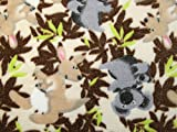 Koalas & Kangaroos Jacquard mit Cuddle Supersoft