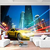 Fototapete Auto Stadt - Vlies Wand Tapete Wohnzimmer Schlafzimmer Büro Flur Dekoration Wandbilder XXL Moderne Wanddeko - 100% MADE IN GERMANY - 9325010c