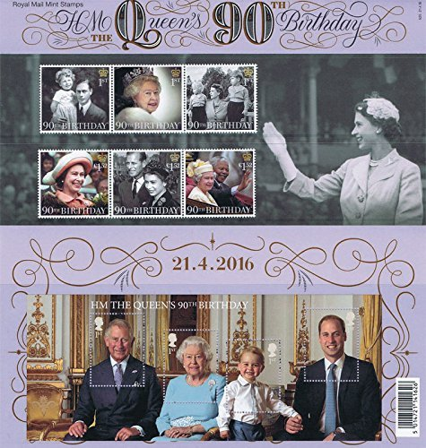 2016-hm-the-queens-90th-birthday-stamps-inc-miniature-sheet-in-presentation-pack-pp498-printed-no-52