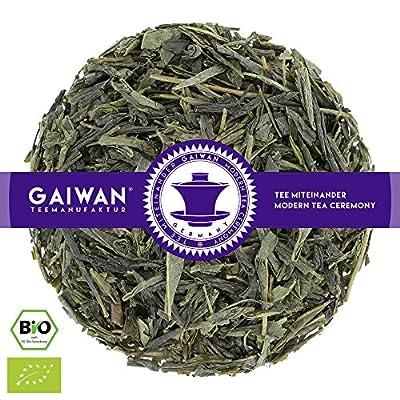 """N° 1419: Thé vert bio """"Bancha japonais"""" - feuilles de thé issu de l'agriculture biologique - GAIWAN® GERMANY - thé vert au Japon"""