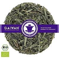 """N° 1419: Thé vert bio""""Bancha japonais"""" - feuilles de thé issu de l'agriculture biologique - 500 g - GAIWAN GERMANY - thé vert au Japon"""