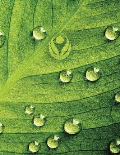 Dew Drop Leaf 2 Grid Sketchbook: Sketch Book Notebook (Go Green 150 Grid-Sketch, Band 11) -