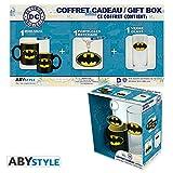 ABYstyle DC Comics - Coffret Cadeau Verre 29cl + Porte-clés + Mini Mug Batman