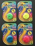 Lot de 4 Chenilles Magiques - 4 couleurs différentes - Tirez discrètement sur le fil invisible, la chenille se faufillera partout !