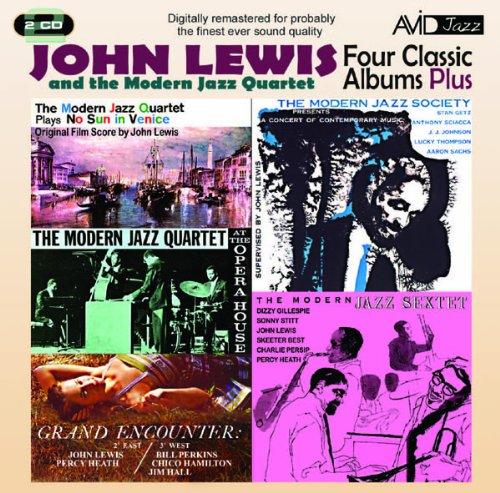 john-lewis-the-modern-jazz-quartet-four-classic-albums-plus