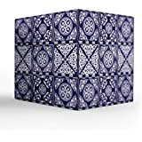 "NISH! Moroccan Tea Light Candle Holder | Acrylic Tea Light Candle Holder (Transluscent Acrylic, Large - 7.5"" Cube, 1 Piece) - B0754JWM45"