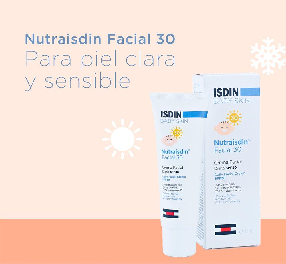 ISDIN Nutraisdin Crema Protectora Facial Diaria Para Bebé SPF 30