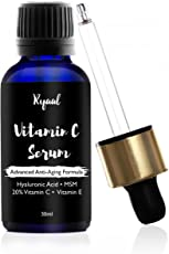 Ryaal Anti-Aging Vitamin C 20% Serum - 30Ml - With Hyaluronic Acid And Vit E - Wrinkle Repairs Dark Circles, Fades Age Spots And Sun Damage