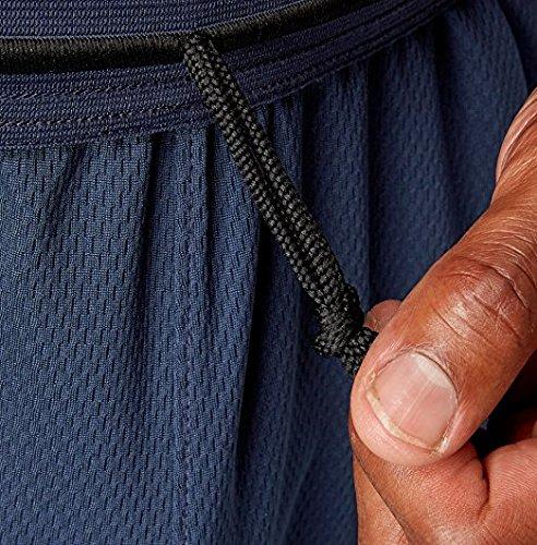 Reebok Men's Mesh Knit Pants, (Dress Blue, L) (Lightweight Knit Pants)