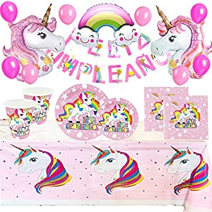 Pack Completo de Cumpleaños Unicornio
