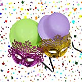 Asian Hobby Crafts Party Hats and Eye Masks (Pack of 4)
