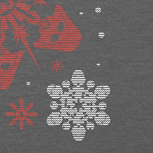 Texlab–Star Flakes–sacchetto di stoffa Grau