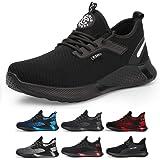 TQGOLD Chaussure de Securité Homme Femmes S3 Baskets Légères et Antidérapantes Chaussures de Travail avec Embout de Protectio